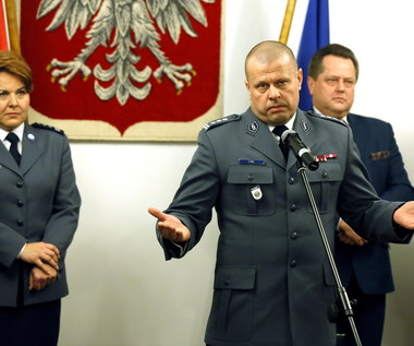 """Komendant główny policji nie zostawia suchej nitki na poprzedniku. """"Zastałem Bizancjum"""""""