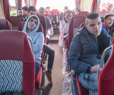 Polityk wysłał autobus uchodźców do Angeli Merkel