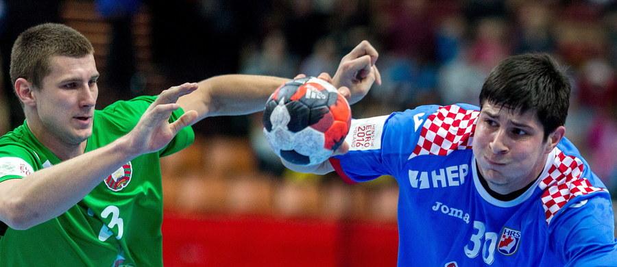 Chorwacja pokonała w katowickim Spodku Białoruś 27:21 (15:15) w pierwszym meczu grupy B mistrzostw Europy piłkarzy ręcznych. W drugim piątkowym spotkaniu tej grupy Islandia zagra z Norwegią.