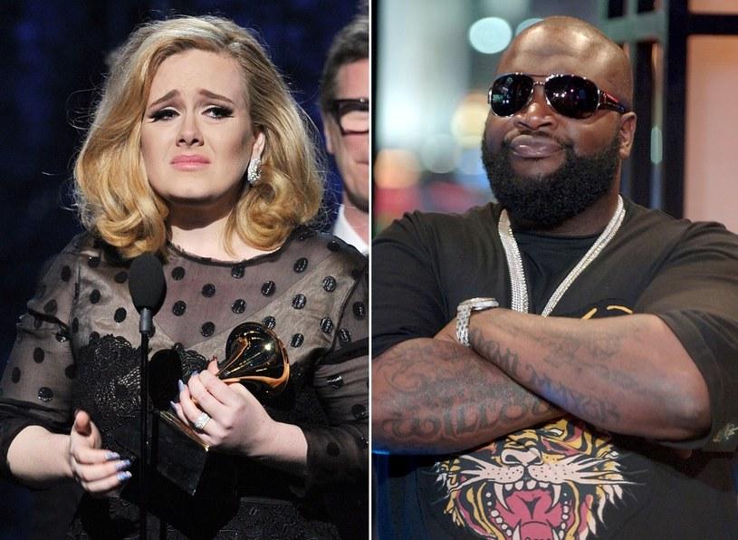 Adele ma miliony fanów na całym świecie. Jak się okazało, jednym z nich jest również raper Rick Ross.
