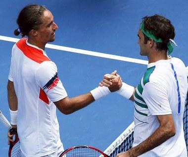 Federer w trzeciej rundzie turnieju Australian Open
