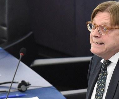 Guy Verhofstadt przedłoży dziś projekt rezolucji PE ws. Polski. Szykuje się batalia