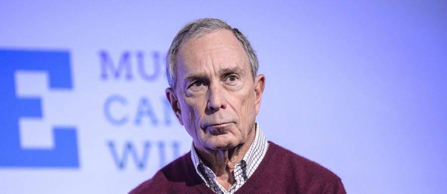 """Michael Bloomberg - były burmistrz Nowego Jorku, miliarder i filantrop - prawdopodobnie przygotowuje się do startu w wyborach prezydenckich w USA. Jak podaje """"New York Times"""", zlecił JUŻ swemu zespołowi opracowanie planu kampanii."""