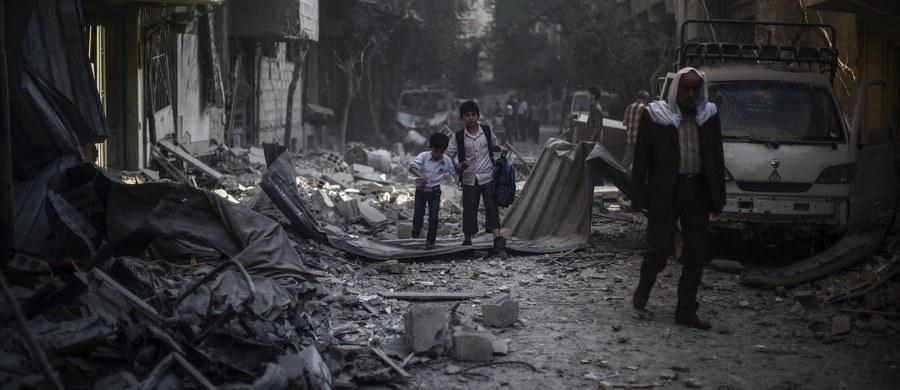 Syryjska armia po zaciętych walkach odbiła z rąk rebeliantów miasto o strategicznym znaczeniu Asz-Szajch Maskin w syryjskiej prowincji Dara - poinformowało opozycyjne Syryjskie Obserwatorium Praw Człowieka. Obecnie walki przeniosły się poza teren miasta - podało Obserwatorium.