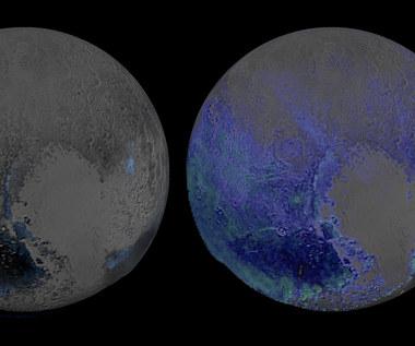 Dużo wody na Plutonie