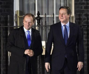 Tusk po spotkaniu z Cameronem: Nie ma porozumienia z Wielką Brytanią