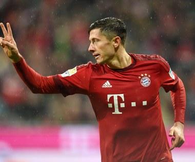 Liga niemiecka: Ponownie dwa gole Lewandowskiego dla Bayernu