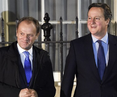 Dziś dalszy ciąg unijno-brytyjskich negocjacji. Rozmowy Tuska z Cameronem zakończone fiaskiem