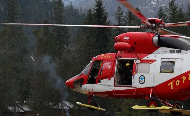 Do szpitala w Zakopanem przetransportowano turystę, porwanego po południu przez lawinę w Tatrach. Mężczyzna jest w stanie ciężkim, ale stabilnym. Razem z nim lawina porwała kobietę, ale ona nie odniosła poważniejszych obrażeń.