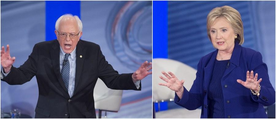 """W ostatniej przed prawyborami w New Hampshire debacie prezydenckiej senator Bernie Sanders kolejny raz oskarżył swą rywalkę Hillary Clinton o związki z Wall Street. """"Wystarczy. Już dość. Jeśli coś na mnie masz, to powiedz"""" - odpierała atak była szefowa dyplomacji."""