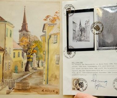 Obrazy Adolfa Hitlera sprzedane za ok. 40 tys. euro