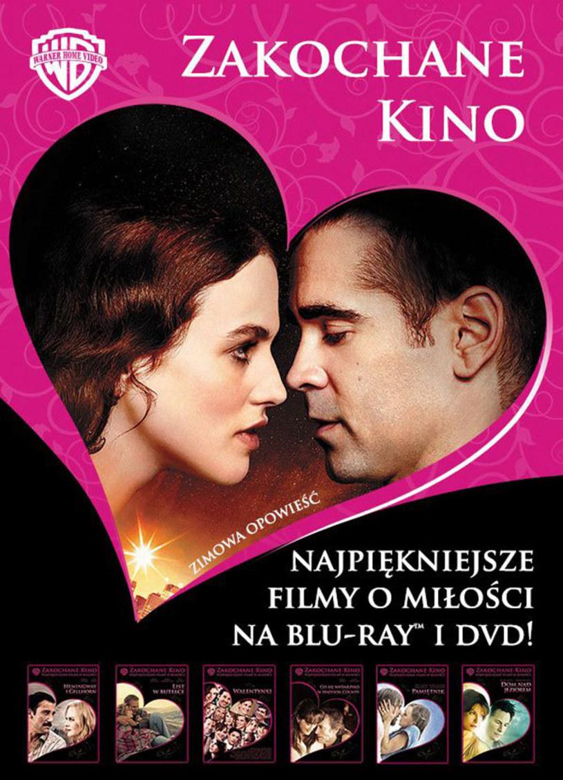 """Zakochane Kino - wyjątkowa kobieca kolekcja romantycznych i zabawnych, poruszających i wzruszających filmów studia Warner Bros, zawiera ponad 40 najpiękniejszych filmów o miłości, w tym takie hity jak """"Pamiętnik"""", """"Miasto aniołów"""", """"Co się wydarzyło w Madison County"""" czy """"List w butelce"""". Osiem nowych tytułów w kolekcji jest już dostępnych na płytach Blu-ray i DVD!"""