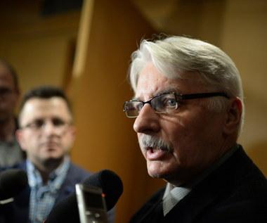 Waszczykowski: Zapytam Amerykanów o możliwość wsparcia dla polskiej armii