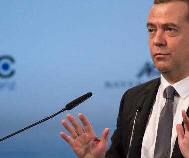 """Miedwiediew o """"nowej zimnej wojnie między Rosją a Zachodem"""""""