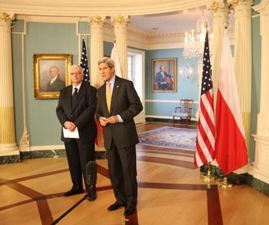 Szef polskiej dyplomacji zaprosił do Polski sekretarza stanu USA