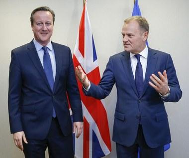 Tusk: Jest jednomyślne poparcie dla porozumienia z Wielką Brytanią