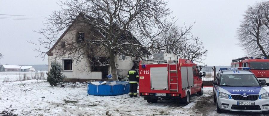 Tragiczny pożar domu w Dusznikach w Wielkopolsce. Zginęło dwóch chłopców w wieku czterech i ośmiu lat. Informację o tym zdarzeniu dostaliśmy na Gorącą Linię RMF FM.