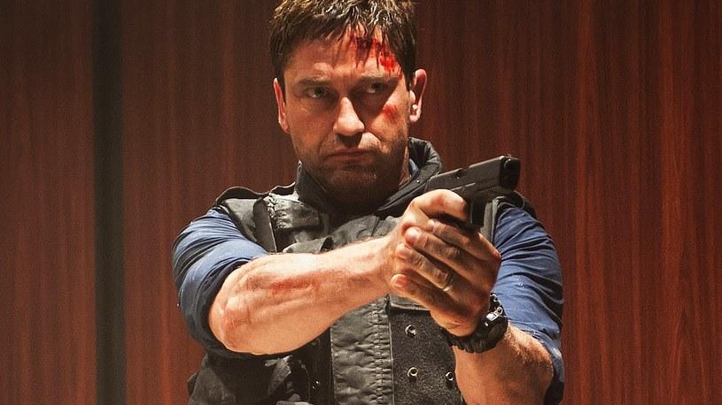 """W filmie """"Londyn w ogniu"""" - kontynuacji przebojowego """"Olimpu w ogniu"""" - Gerard Butler ponownie wcielił się w agenta Secret Service Mike'a Banninga"""