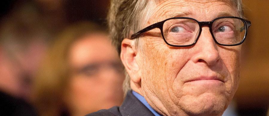 """W tym roku liczba miliarderów na świecie nieco się zmniejszyła, po raz pierwszy od 2009 roku. Skurczyła się także łączna wartość ich majątku - podał magazyn """"Forbes"""". Najbogatszym człowiekiem na planecie pozostaje Amerykanin Bill Gates."""