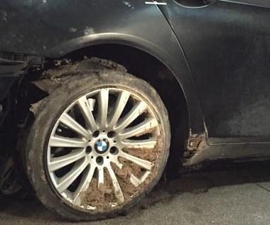 Wypadek limuzyny prezydenta Dudy. Biegli pobrali już próbki z koła auta