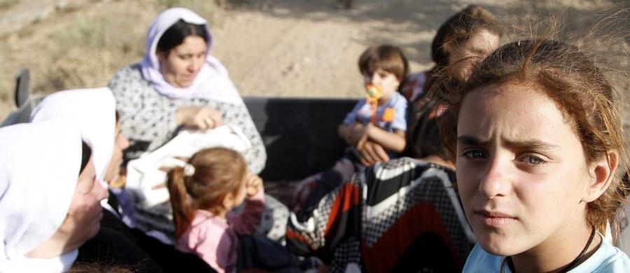 """Dżihadyści z Państwa Islamskiego masowo zmuszają więzione przez siebie kobiety do zażywania środków antykoncepcyjnych – wynika ze śledztwa """"New York Times"""". Islamiści nie mogą bowiem gwałcić swoich niewolnic seksualnych, jeśli są one w ciąży."""
