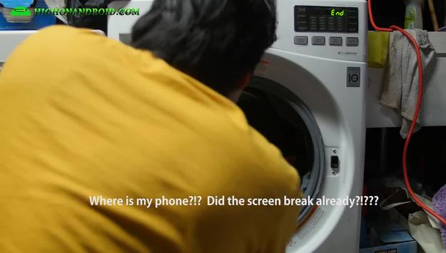 Samsung Galaxy S7 kontra pralka