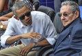 Kuba: Obama i Castro razem na meczu