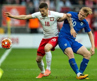 Mecz Polska - Finlandia w obiektywie