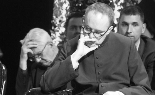 Nie żyje założyciel puckiego hospicjum, ksiądz Jan Kaczkowski. Duchowny zmagał się z chorobą nowotworową. Miał 38 lat.