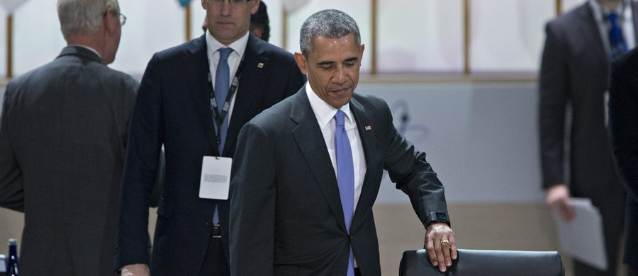 """""""Zagrożenie terroryzmem z wykorzystaniem przez dżihadystów materiałów nuklearnych nie ustępuje, ale maleje"""" - powiedział prezydent USA Barack Obama."""