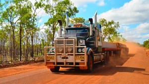 Truckersi przez Australię