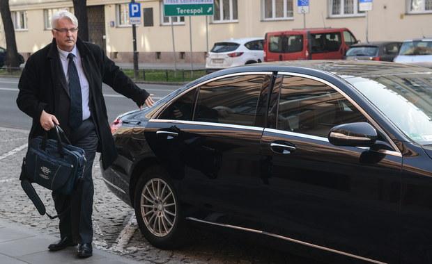 Szef MSZ Witold Waszczykowski i prezes PiS Jarosław Kaczyński spotkali się z grupą amerykańskich kongresmenów. Rozmowy dotyczyły m.in. sytuacji politycznej w Polsce, współpracy Polski i USA w zakresie bezpieczeństwa.