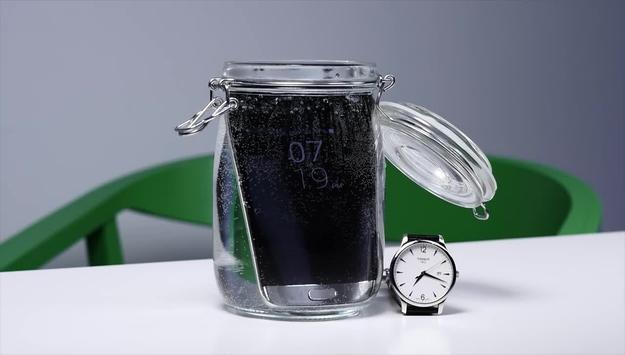 Galaxy S7 - 16 godzin w wodzie
