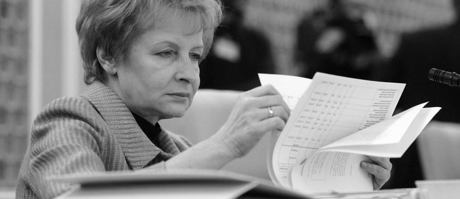 Nie żyje Zyta Gilowska. Zmarła w wieku 66 lat. Była ministrem finansów oraz wicepremierem w rządach Kazimierza Marcinkiewicza oraz Jarosława Kaczyńskiego. Od 2010 do 2013 była członkiem Rady Polityki Pieniężnej.