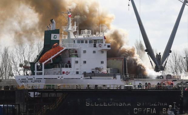 Strażacy opanowali pożar w stoczni remontowej Gryfia w Szczecinie. Palił się stojący tam statek. Informację dostaliśmy na Gorącą Linię RMF FM.