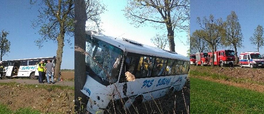 10 osób zostało rannych w wypadku autobusu PKS w Zwierznie w Warmińsko-Mazurskiem. Informację i zdjęcia dostaliśmy na Gorącą Linię RMF FM.