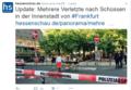 Strzelanina w centrum Frankfurtu. Sprawcy uciekli