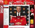Jose Mourinho trenerem Manchesteru United