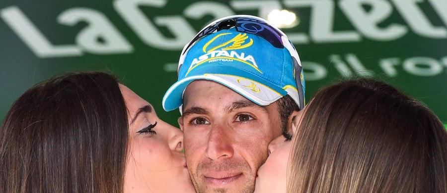 Vincenzo Nibali (Astana) po przedostatnim etapie objął prowadzenie w kolarskim wyścigu Giro d'Italia. Włoch praktycznie zapewnił sobie zwycięstwo w imprezie. Piąte miejsce w klasyfikacji generalnej zachował Rafał Majka (Tinkoff).