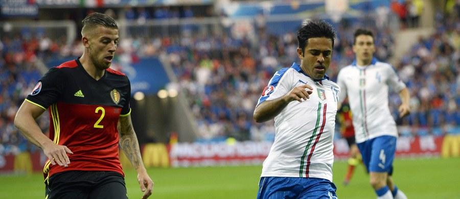 Włochy pokonały Belgię 2:0 w swoim pierwszym meczu podczas Euro 2016 we Francji. Spotkanie Belgii, drugiego zespołu w rankingu FIFA, z wicemistrzami kontynentu Włochami to było jedno z najważniejszych wydarzeń fazy grupowej tegorocznych mistrzostw Europy w piłce nożnej.