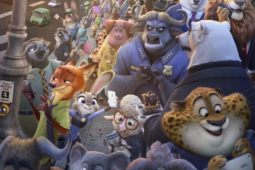 """Nowoczesna metropolia zamieszkiwana wyłącznie przez zwierzęta. Animacja """"Zwierzogród"""" od 20 czerwca jest dostępna na płytach Blu-ray 3D, Blu-ray i DVD."""