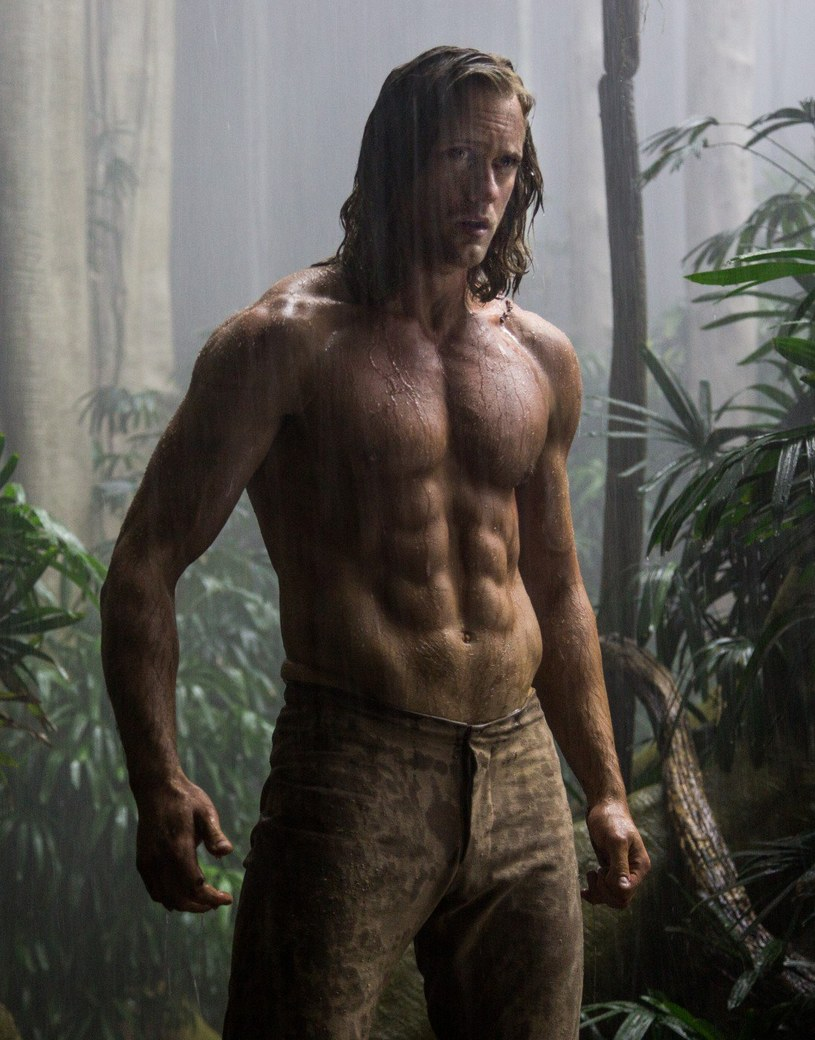 """Alexander Skarsgard, odtwórca tytułowej roli w filmie """"Tarzan: Legenda"""" przyznał, że w trakcie przygotowań do ekranowego występu był na drakońskiej diecie."""