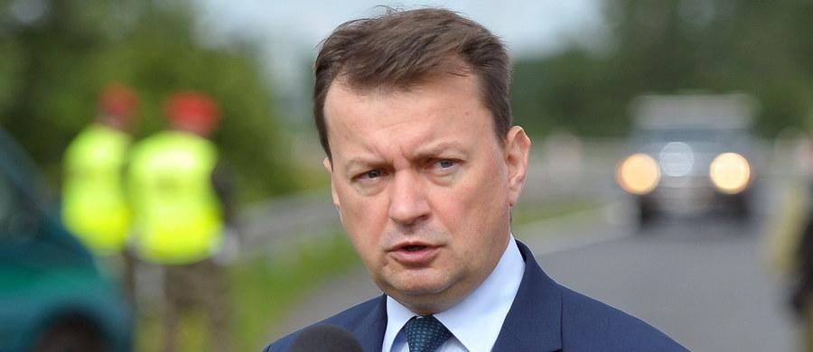 Posłowie PO zaapelowali do szefa MSWiA Mariusza Błaszczaka, by przeprosił gdańskich policjantów za krytyczne słowa pod ich adresem, jakie padły po zatrzymaniu w maju Marii K., córki radnej PiS. Błaszczak zarzucił wówczas policji, że zbyt brutalnie potraktowała 19-latkę.