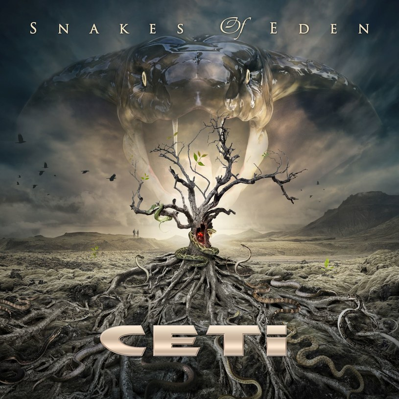 """W kwietniu do sprzedaży trafi winylowe wydanie ostatniej płyty heavymetalowej grupy CETI - """"Snakes Of Eden""""."""