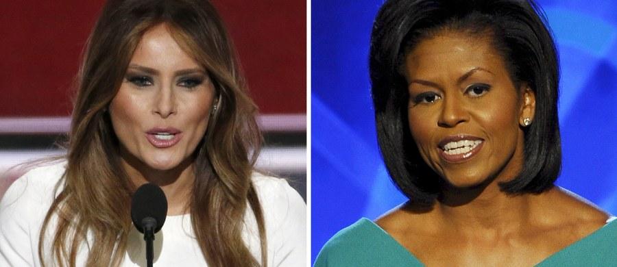 """Duże kontrowersje wzbudziło w Stanach Zjednoczonych przemówienie żony Donalda Trumpa - Melanii, które wygłosiła na konwencji Partii Republikańskiej. Część mediów - w tym telewizja CNN - nazywa je plagiatem. Komentatorzy twierdzą, że Melania """"za bardzo zainspirowała się"""" mową Michelle Obamy sprzed 8 lat."""