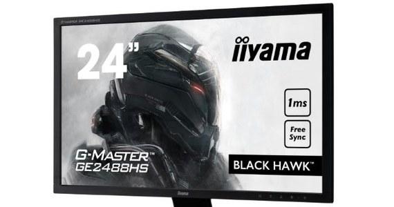 iiyama prezentuje ulepszony monitor Black Hawk G-Master GE2488HS-B2