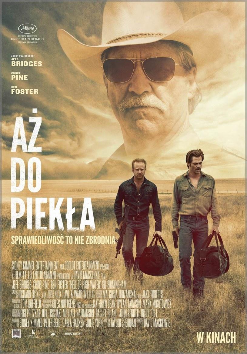 """19 sierpnia na ekrany polskich kin trafi thriller """"Aż do piekła""""."""