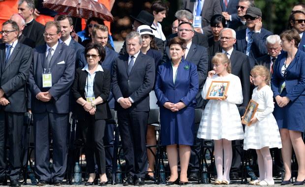 W grupie Sprawiedliwych wśród Narodów Świata, którzy spotkali się z Franciszkiem w Auschwitz-Birkenau były dwie dziewczynki - Marysia i Asia Niemczak. Mieszkają w Markowej. Ich pradziadek był bratem Wiktorii Ulmowej.