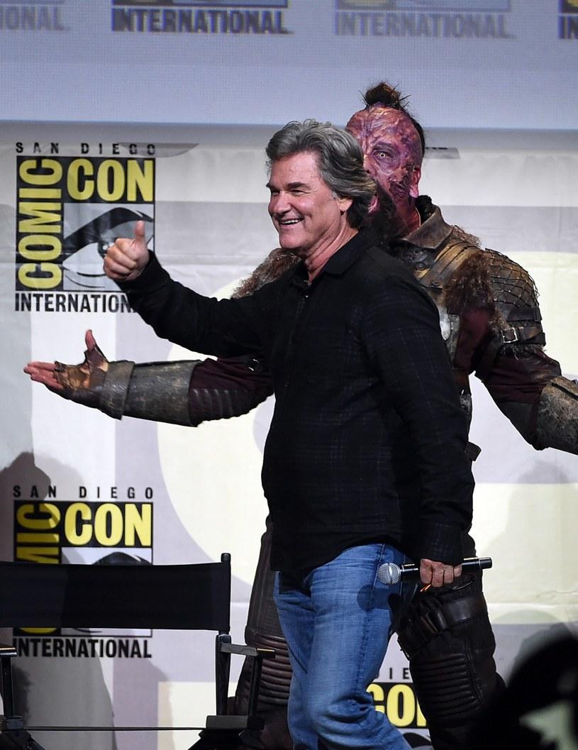 """Kurt Russell wcieli się w """"Strażnikach Galaktyki 2"""" w ojca bohatera granego przez Chrisa Pratta - Żyjącą Planetę. Reżyser James Gunn zdradził, że to właśnie Pratt zaproponował Russella do tej roli."""