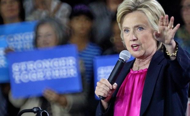 """Osobista lekarka Hillary Clinton ogłosiła, że chora na zapalenie płuc kandydatka Demokratów do Białego Domu dochodzi powoli do zdrowia i nadal jest """"w stanie fizycznym i mentalnym pozwalającym na pełnienie urzędu prezydenta USA""""."""